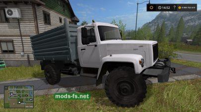 GAZ-3308 mods FS 2017