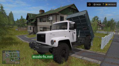 Скриншот мода «ГАЗ-3308»