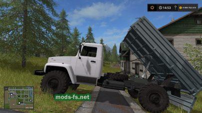 Мод самосвала ГАЗ-3308