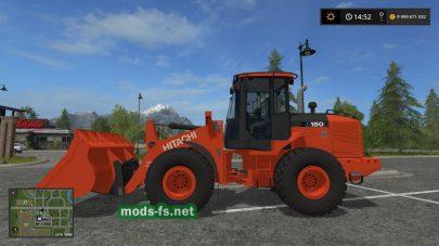 Hitachi ZW150-6 mods