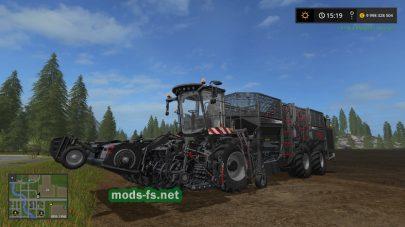 Holmer Terra для игры Farming Simulator 2017
