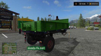 Воз для лошади в игре Farming Simulator 2017