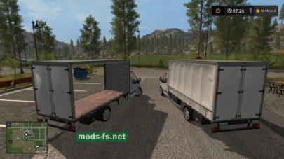 Мод фургона «Jollydodgers Ford Boxvan»