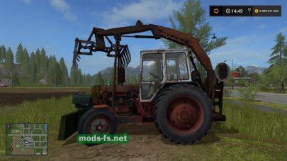 Трактор ЮМЗ 6 для FS 2017