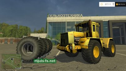 Кировец К-702 для Farming Simulator 2015