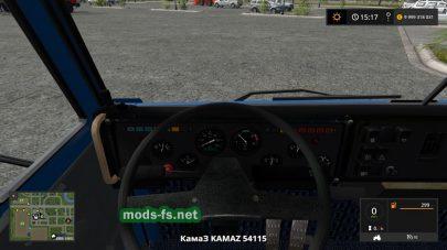 Kamaz 54115 mods