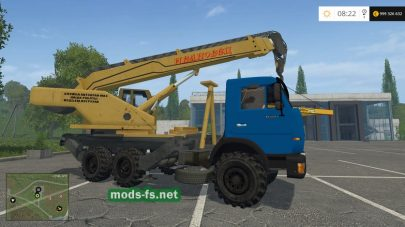 Кран КамАЗ 45143 для FS 15