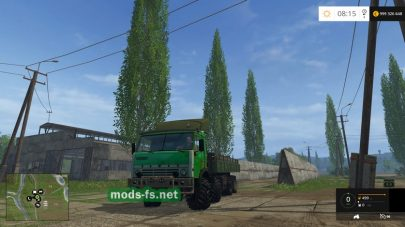 КамАЗ-65310 для Farming Simulator 2015