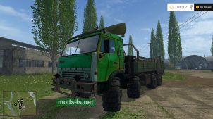 Мод грузовика КамАЗ-65310