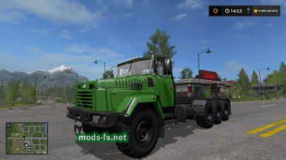 FS17 KrAZ7140 Pack