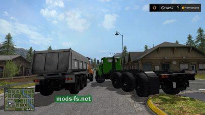 Скриншот мода «KrAZ7140»