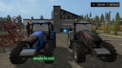 Мод трактора Mccormick X7.4