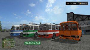 Мод пак автобусов LIAZ 677