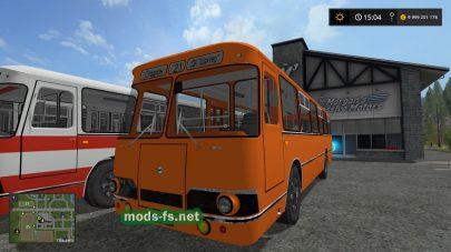 Мод на автобус ЛиАЗ
