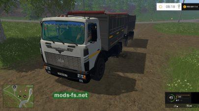 Maz 5551 для FS 2015