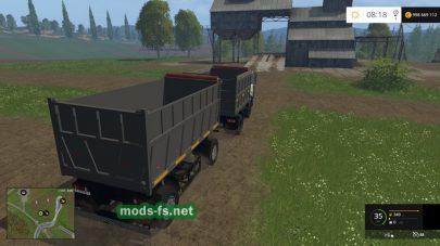 Мод грузовика Maz 5551