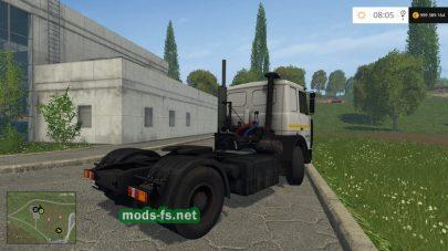 maz 6422 mods