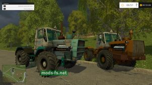 Мод трактора Т-150к