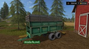 Прицеп МТУ-18 для FS 17
