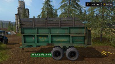 МТУ-18 — прицеп для навоза в FS 17