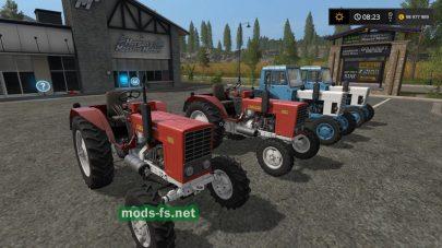 Набор тракторов MTZ для FS 17