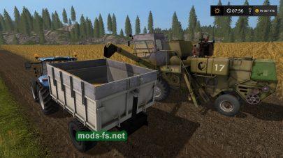 Прицеп для трактора в игре FS 17