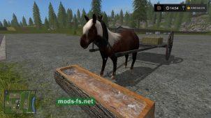 Мод на лошадь для Farming Simulator 2017