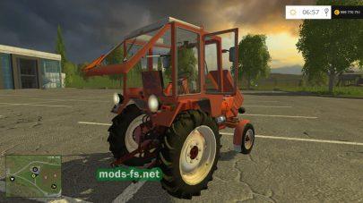 Скриншот мода трактора Т-25 «Владимировец»