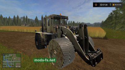 Мод трактора К-702