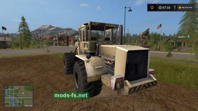 Мод трактора К-702 Wheelloader