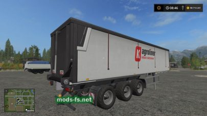 Прицеп от Kroger Agroliner для FS 17