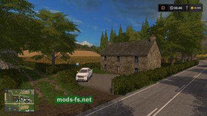 Дороги на карте Blackthorn Valley