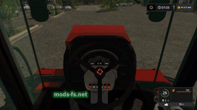 Мод трактора K-744 v1.1