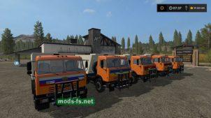Пак грузовиков КамАЗ-65115