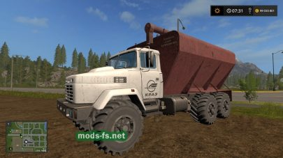 kraz-63221 mods