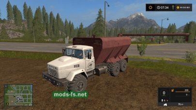 Скриншот мода KRAZ 63221 ZSK