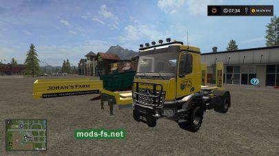 Мод «LOW LOADER WITH MB AROCS «