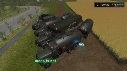 Скриншот мода КРАЗ-255Б