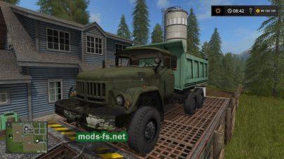 Мод грузовика ЗИЛ