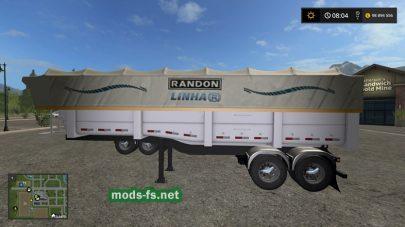 Мод прицепа Rodotrem Random Multi Cores