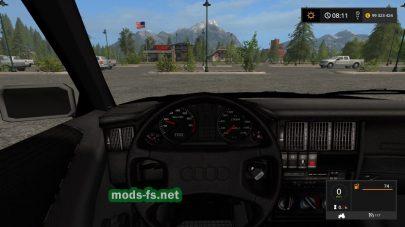 AUDI 80 B3 для Farming Simulator 2017