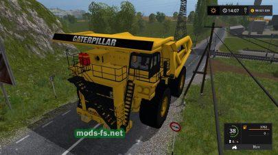 Caterpillar797BDumpTruck