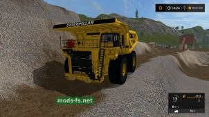 Модификация карьерного грузовика CATERPILLAR