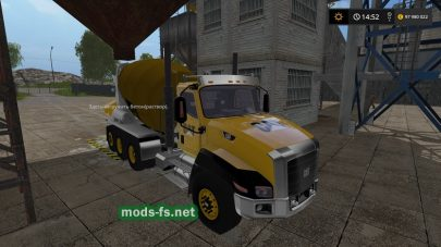 Caterpillar Cement Mixer для FS 2017