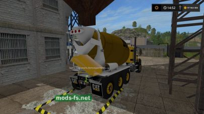 Caterpillar Cement Mixer