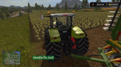 Мод трактора Claas Atles 936