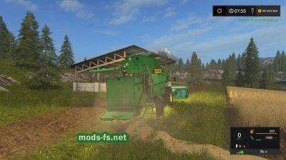 Дон 1500Б(bySilver_Khl) для Farming Simulator 2017