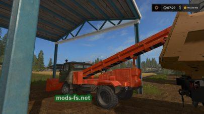 Мод грузовика-погрузчика GAZ 66