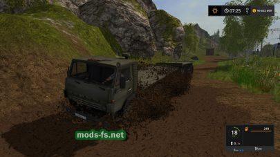 KAMAZ для Farming Simulator 2017 с прицепами