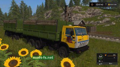 Мод на КамАЗ-55102